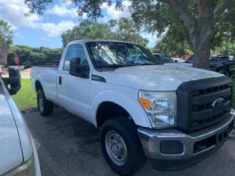 2012 Ford F-250 Super Duty for sale at DAN'S DEALS ON WHEELS AUTO SALES, INC. in Davie FL