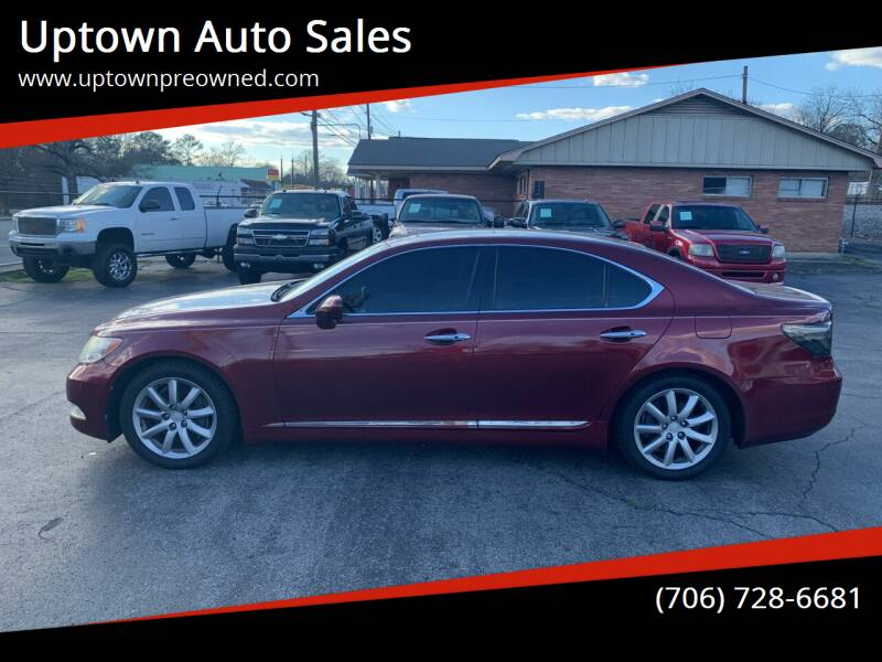 2008 Lexus LS 460 for sale at Uptown Auto Sales in Rome GA