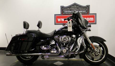 2012 Harley-Davidson Street Glide for sale at Certified Motor Company in Las Vegas NV