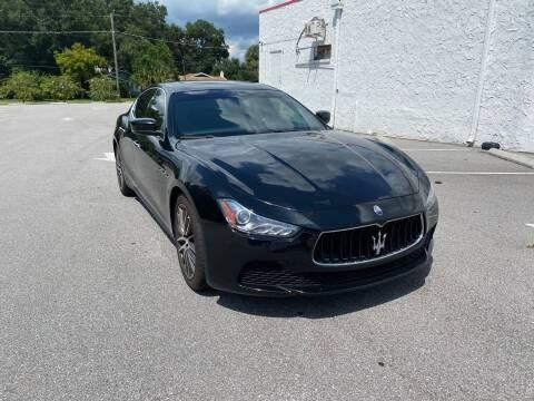 2015 Maserati Ghibli for sale at LUXURY AUTO MALL in Tampa FL