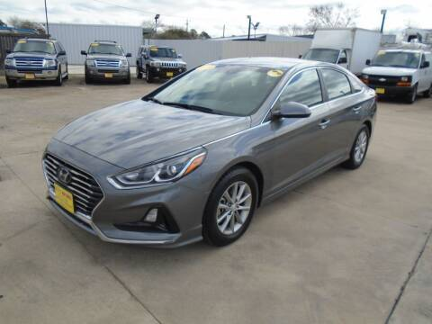 2018 Hyundai Sonata for sale at BAS MOTORS in Houston TX