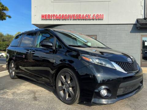 2015 Toyota Sienna for sale at Heritage Automotive Sales in Columbus in Columbus IN