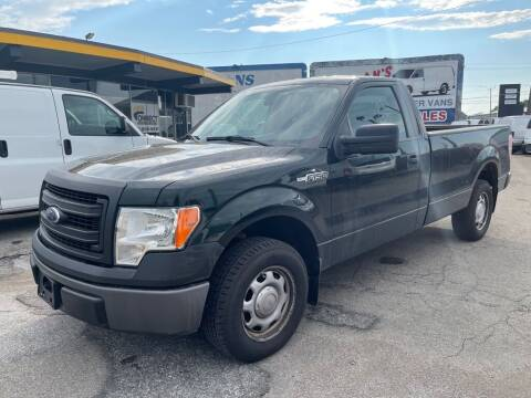 2014 Ford F-150 for sale at Connect Truck and Van Center in Indianapolis IN