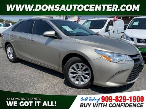 2015 Toyota Camry for sale at Dons Auto Center in Fontana CA