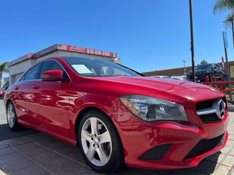 2015 Mercedes-Benz CLA for sale at CARCO SALES & FINANCE in Chula Vista CA