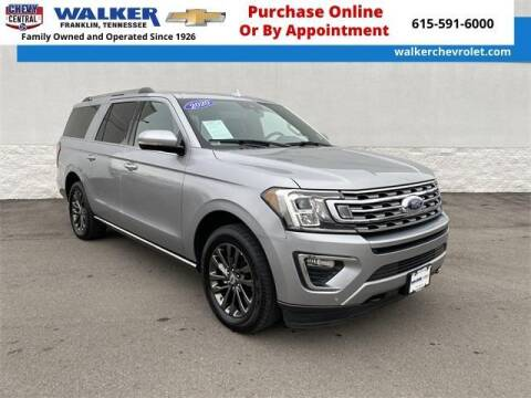 2020 Ford Expedition MAX for sale at WALKER CHEVROLET in Franklin TN