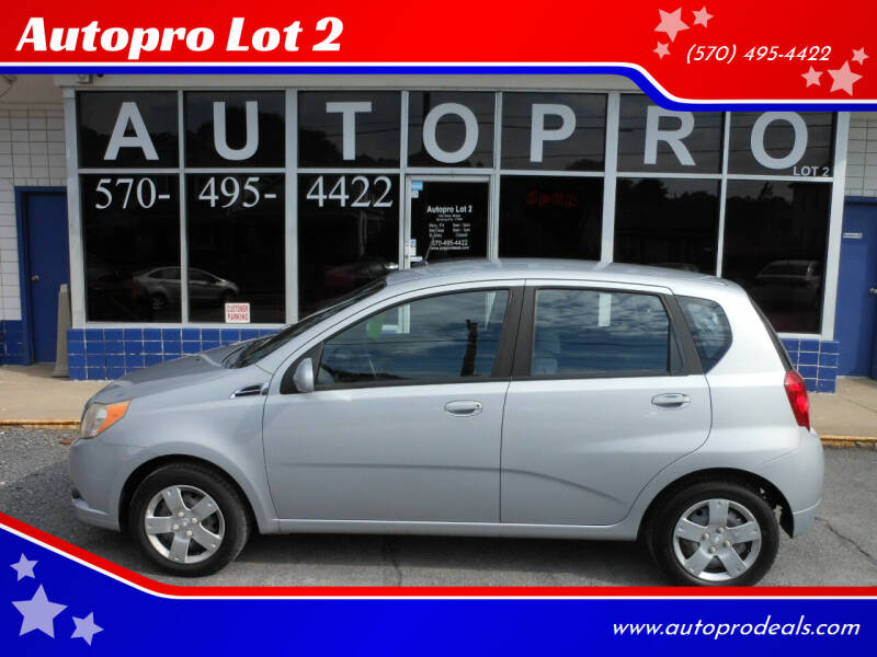 2010 Chevrolet Aveo for sale at Autopro Lot 2 in Sunbury PA
