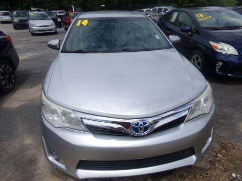2014 Toyota Camry Hybrid for sale at Alabama Auto Sales in Semmes AL