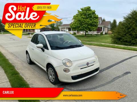 2012 FIAT 500 for sale at CARLUX in Fortville IN