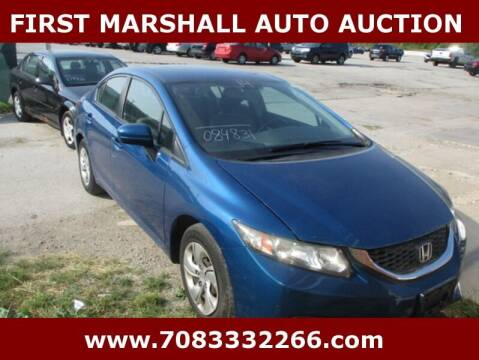 2014 Honda Civic for sale at First Marshall Auto Auction in Harvey IL