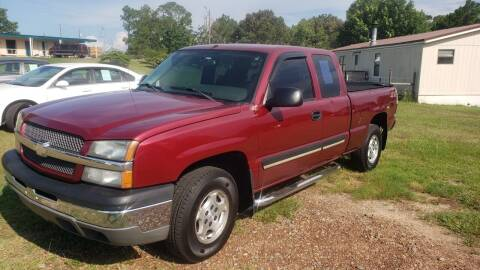 2004 Chevrolet Silverado 1500 for sale at Lakeview Auto Sales LLC in Sycamore GA