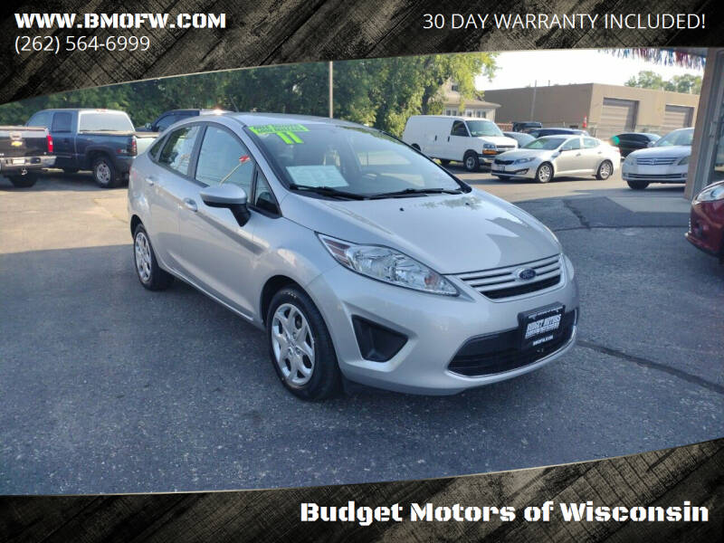 2011 Ford Fiesta for sale at Budget Motors of Wisconsin in Racine WI