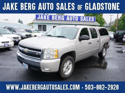 2007 Chevrolet Silverado 1500 for sale at Jake Berg Auto Sales in Gladstone OR