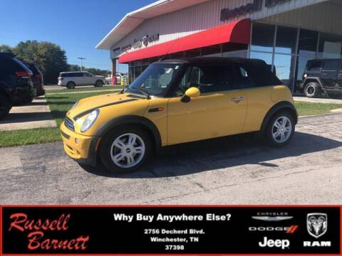 2007 MINI Cooper for sale at Russell Barnett Chrysler Dodge Jeep Ram in Winchester TN