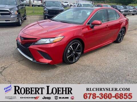 2019 Toyota Camry for sale at Robert Loehr Chrysler Dodge Jeep Ram in Cartersville GA