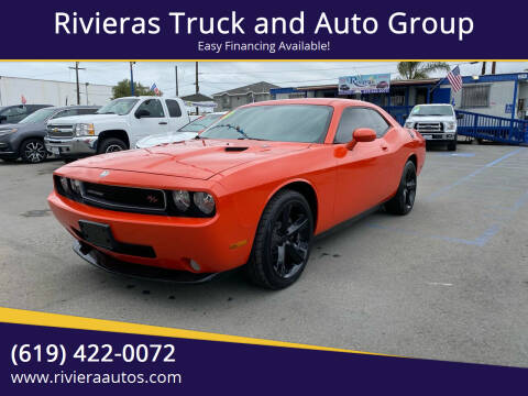 2010 Dodge Challenger for sale at Rivieras Truck and Auto Group in Chula Vista CA