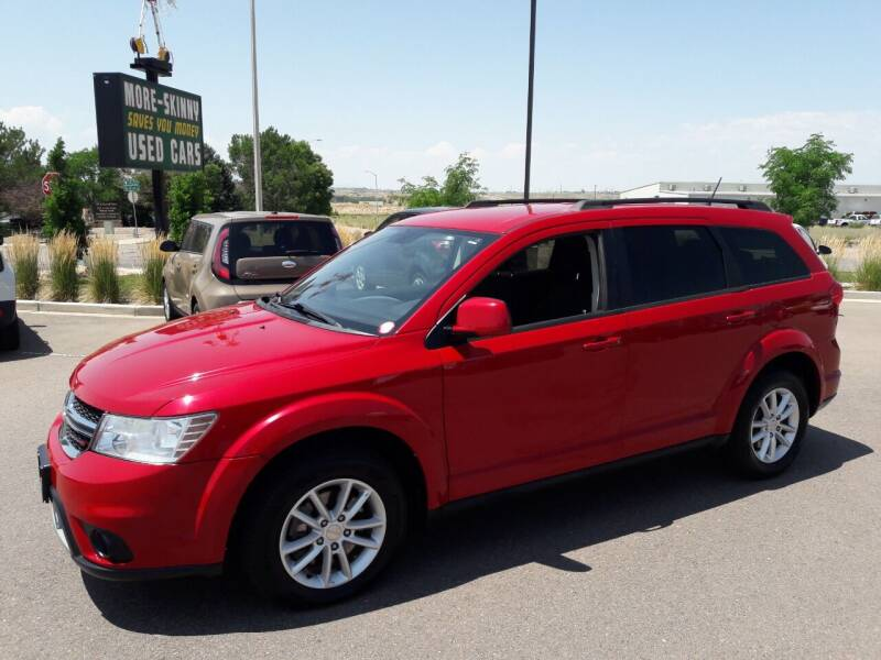 2017 Dodge Journey for sale at More-Skinny Used Cars in Pueblo CO