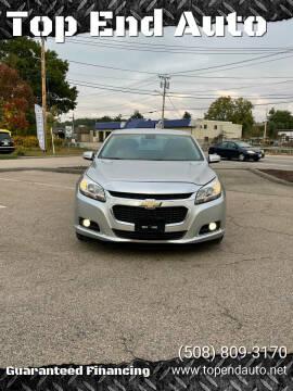 2015 Chevrolet Malibu for sale at Top End Auto in North Attleboro MA