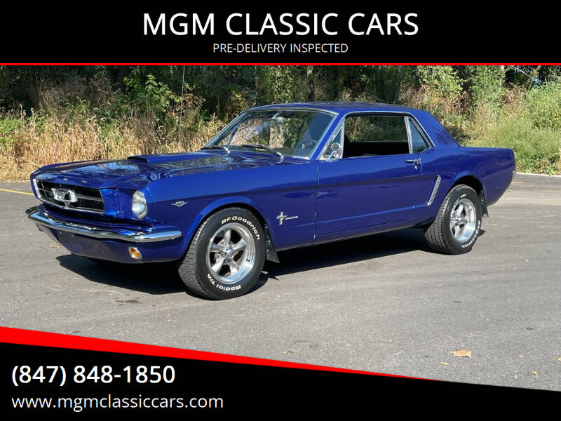 1965 Ford Mustang for sale at MGM CLASSIC CARS-New Arrivals in Addison IL