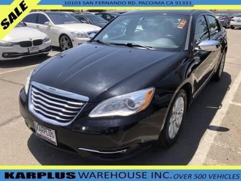 2014 Chrysler 200 for sale at Karplus Warehouse in Pacoima CA