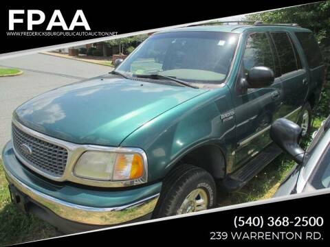 2000 Ford Expedition for sale at FPAA in Fredericksburg VA