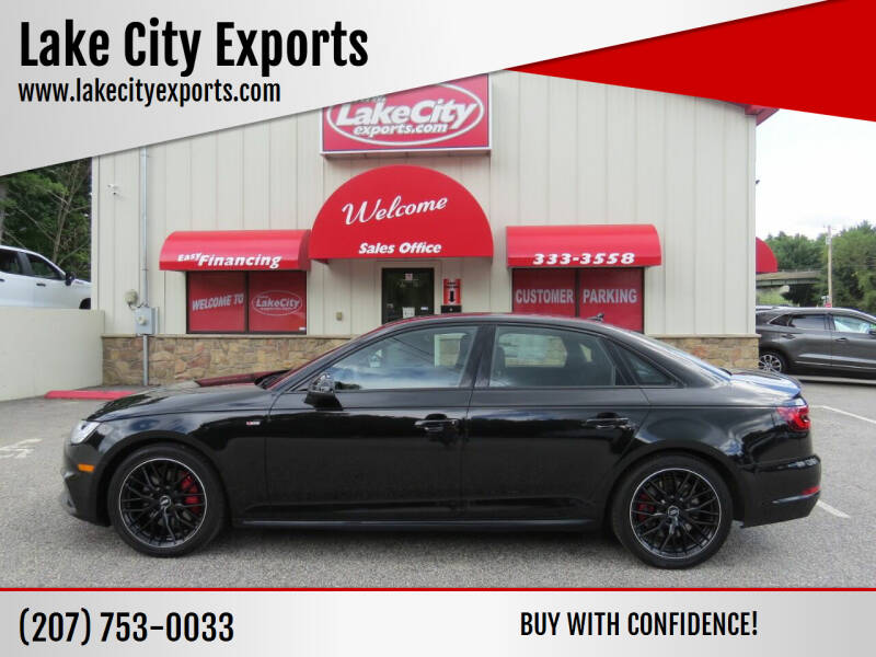 2018 Audi A4 for sale at Lake City Exports in Auburn ME