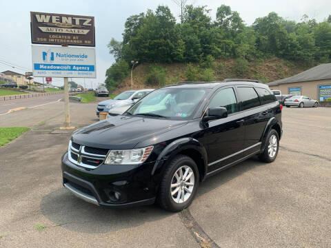 2015 Dodge Journey for sale at WENTZ AUTO SALES in Lehighton PA