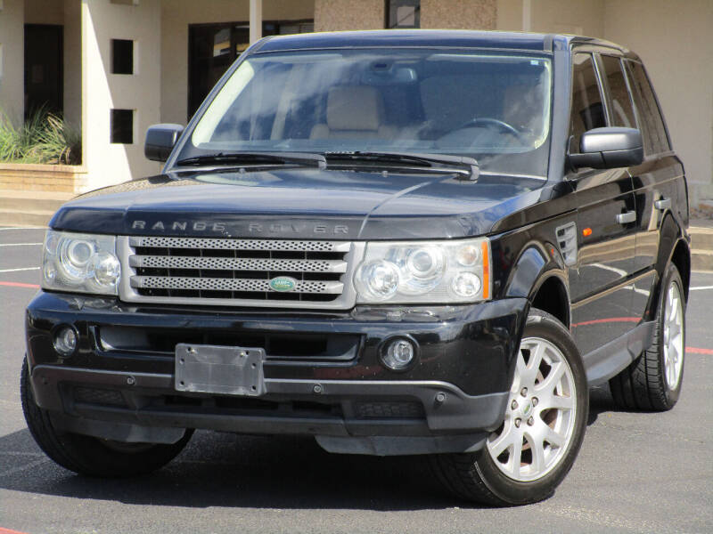 2008 Land Rover Range Rover Sport for sale at Ritz Auto Group in Dallas TX