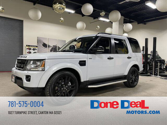 2015 Land Rover LR4 for sale at DONE DEAL MOTORS in Canton MA