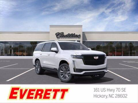 2021 Cadillac Escalade for sale at Everett Chevrolet Buick GMC in Hickory NC
