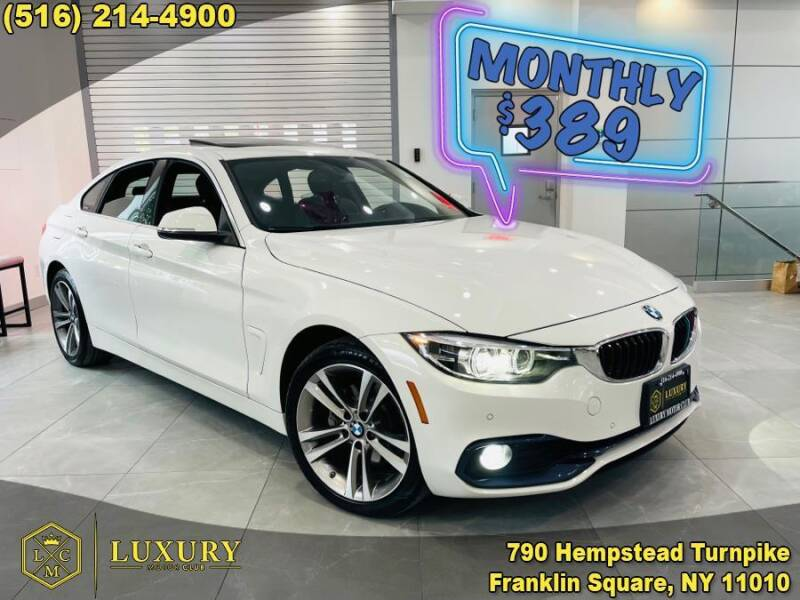 2019 BMW 4 Series for sale at LUXURY MOTOR CLUB in Franklin Square NY
