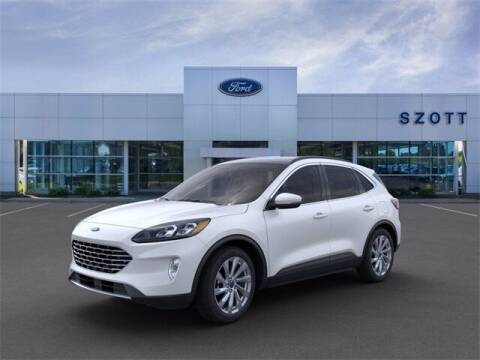 2021 Ford Escape for sale at Szott Ford in Holly MI