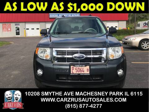 2008 Ford Escape for sale at Carz R Us in Machesney Park IL