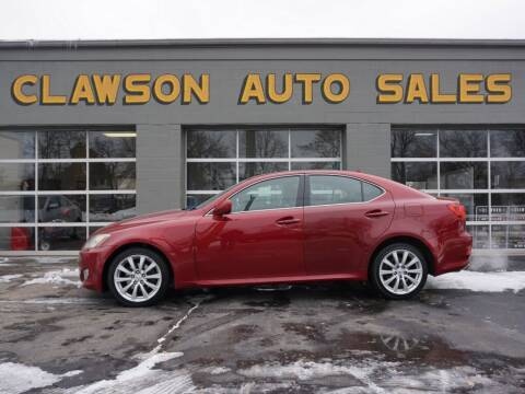 2007 Lexus IS 250 for sale at Clawson Auto Sales in Clawson MI
