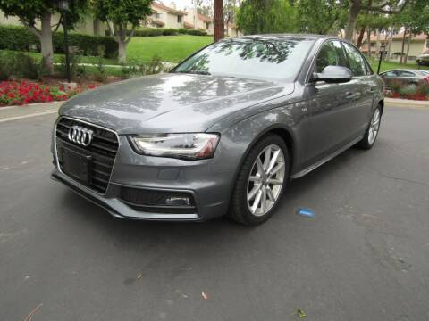 2015 Audi A4 for sale at E MOTORCARS in Fullerton CA