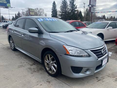 2013 Nissan Sentra for sale at Sexton's Car Collection Inc in Idaho Falls ID