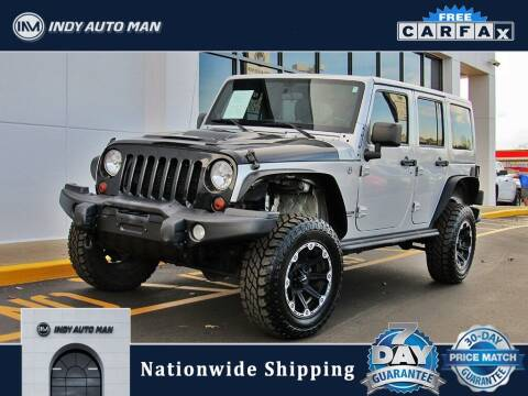 2012 Jeep Wrangler Unlimited for sale at INDY AUTO MAN in Indianapolis IN