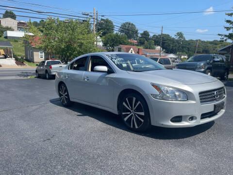 2011 Nissan Maxima for sale at KP'S Cars in Staunton VA