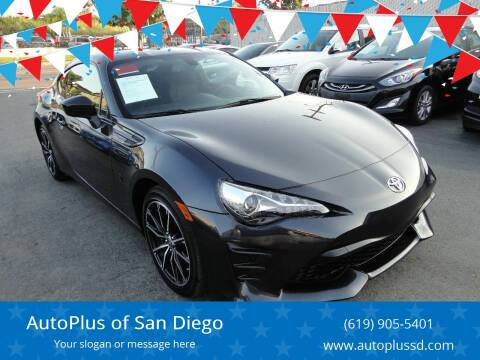 2019 Toyota 86 for sale at AutoPlus of San Diego in Spring Valley CA