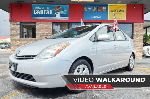 2007 Toyota Prius for sale at ALWAYSSOLD123 INC in North Miami Beach FL