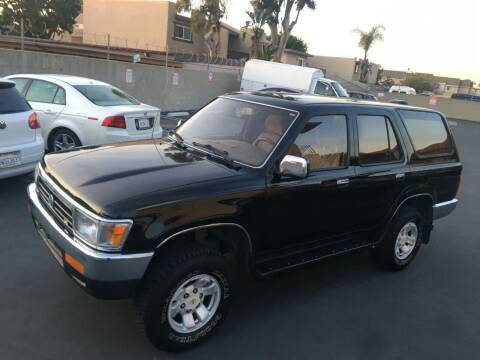 1995 Toyota 4Runner for sale at American Wholesalers in Huntington Beach CA
