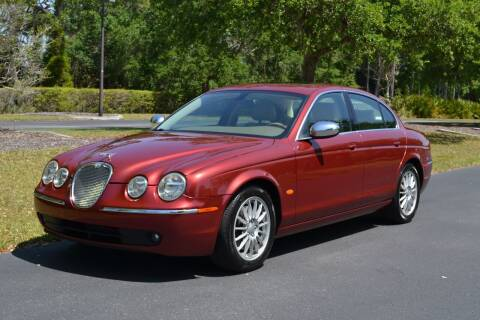 2007 Jaguar S-Type for sale at GulfCoast Motorsports in Osprey FL