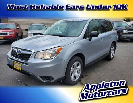 2014 Subaru Forester for sale at Appleton Motorcars Sales & Service in Appleton WI