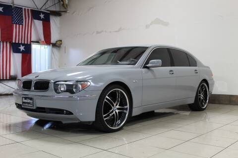 2004 BMW 7 Series for sale at ROADSTERS AUTO in Houston TX