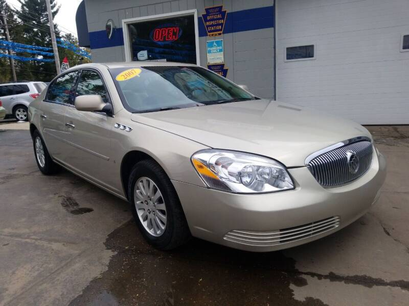 2007 Buick Lucerne for sale at Fleetwing Auto Sales in Erie PA