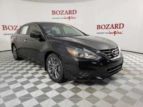 2018 Nissan Altima for sale at BOZARD FORD in Saint Augustine FL