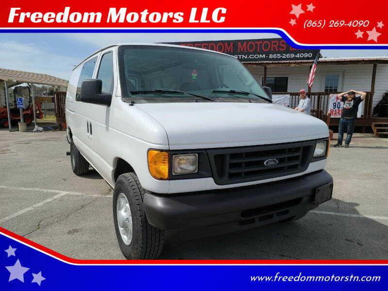 2005 Ford E-Series Cargo for sale at Freedom Motors LLC in Knoxville TN