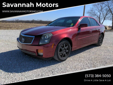 2006 Cadillac CTS for sale at Savannah Motors in Elsberry MO