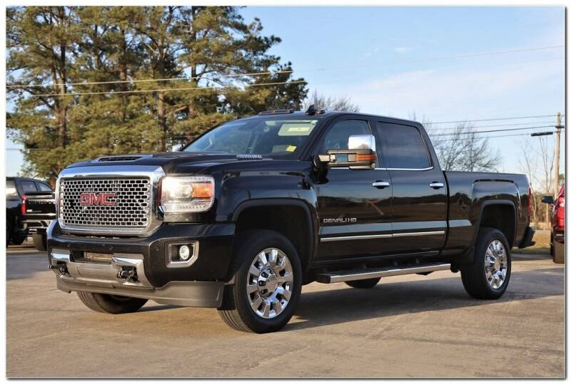 2017 GMC Sierra 2500HD for sale at STRICKLAND AUTO GROUP INC in Ahoskie NC