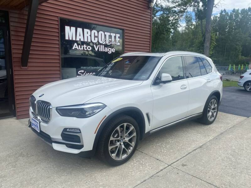2019 BMW X5 for sale at Marcotte & Sons Auto Village in North Ferrisburgh VT